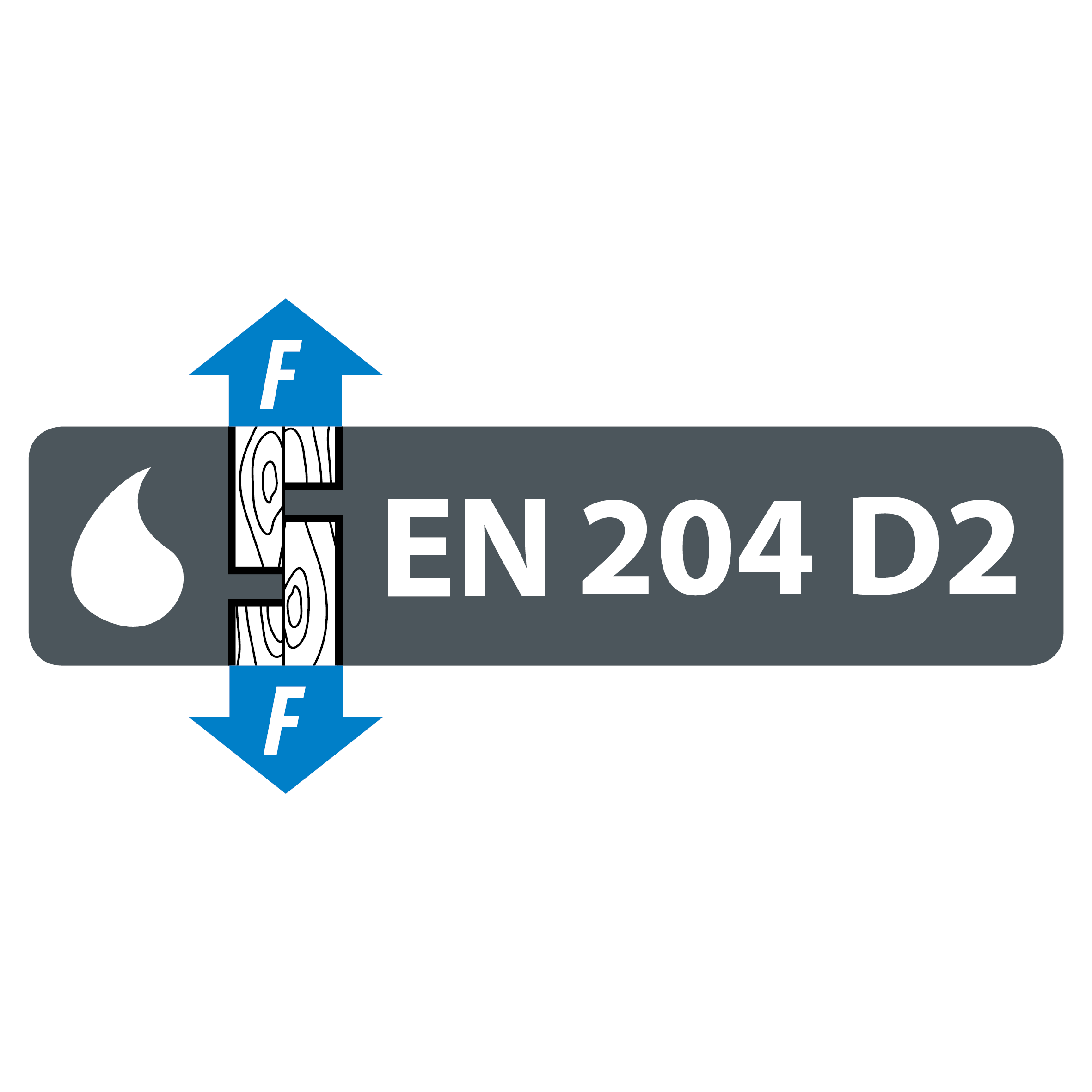 EN 204 D2 water resistance classification