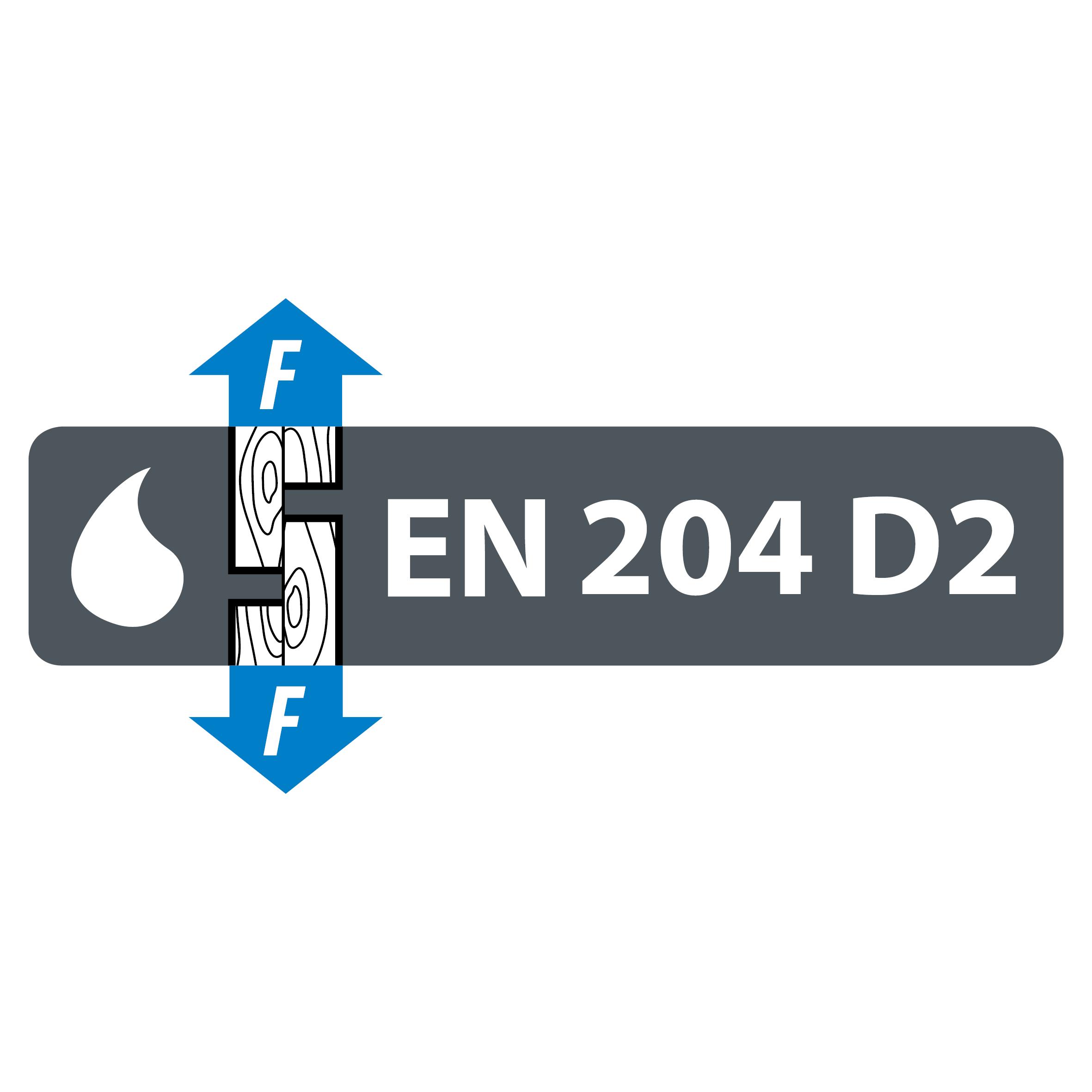EN 204 D2 water resistance classification