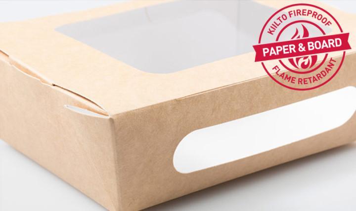 paper cardboard flame retardants industry kiilto fireproof