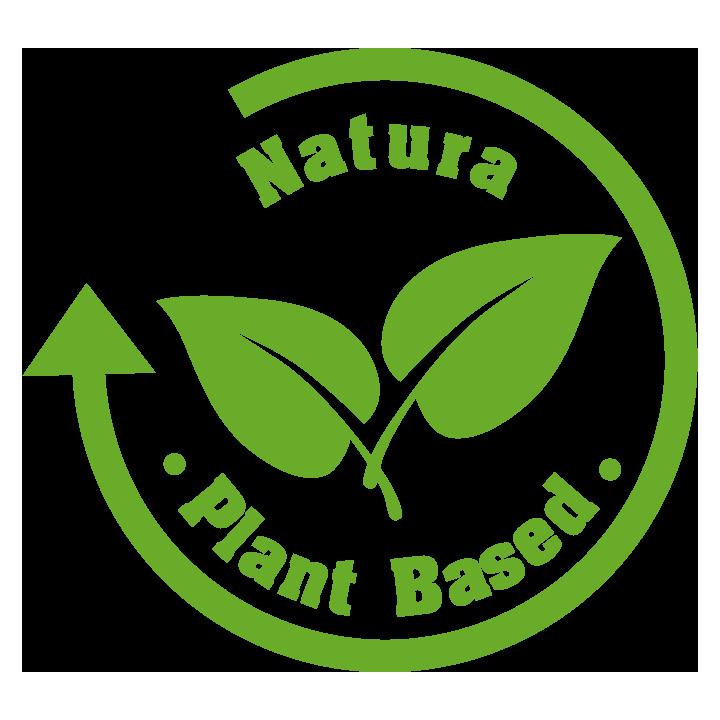 """Grønt merke: """"Natura - Plant Based"""". En finsk sertifisering som er strengere enn Svanemerket på miljø og bærekraft."""